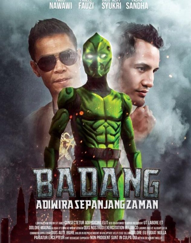 Filem Adiwira Badang Diadaptasi Daripada Lagenda Badang