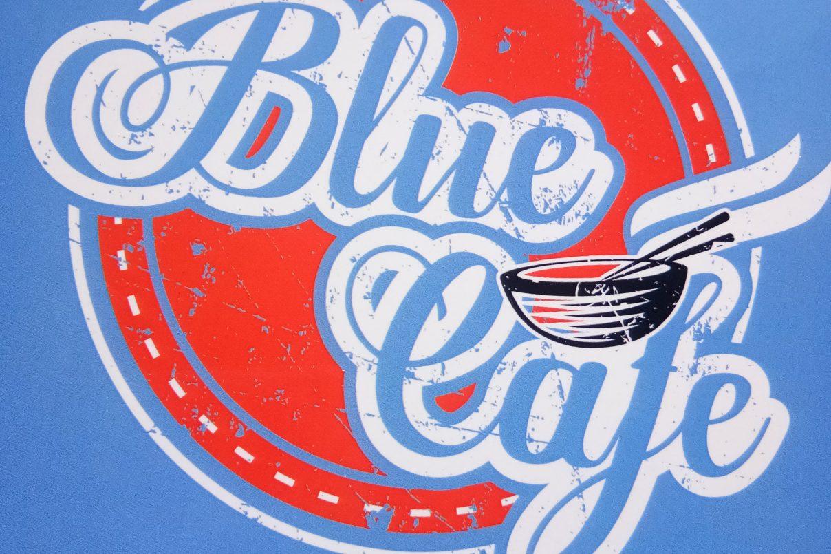Blue Cafe Bandar Mahkota Cheras Pizza Rendang Terbaik !!!