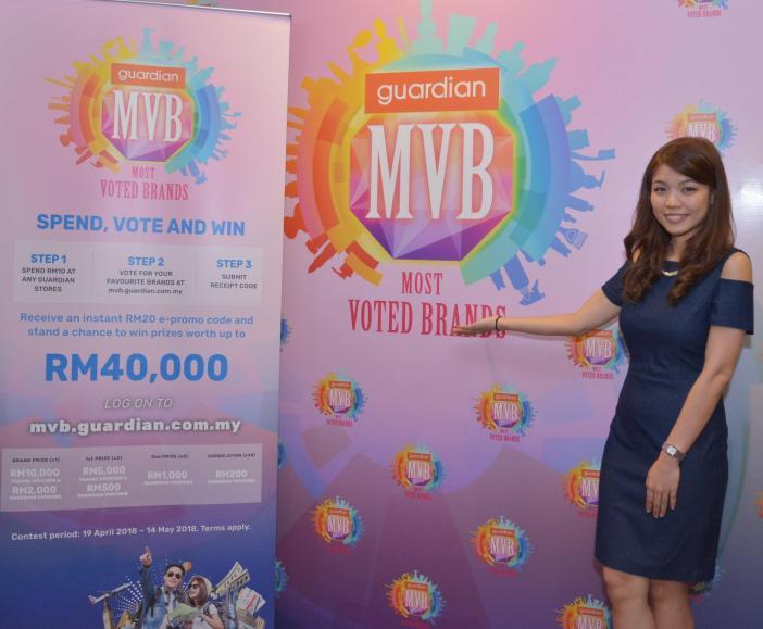 Guardian Most Voted Brands Award Anda Berpeluang Menangi RM40,000