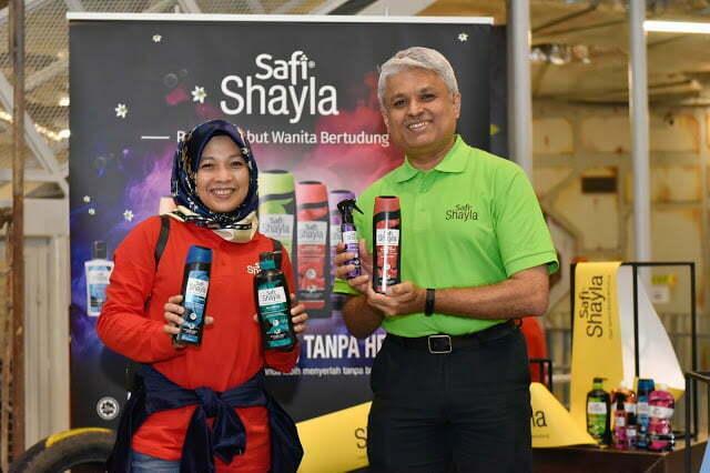 Safi Shayla Pakar Rambut Wanita Bertudung
