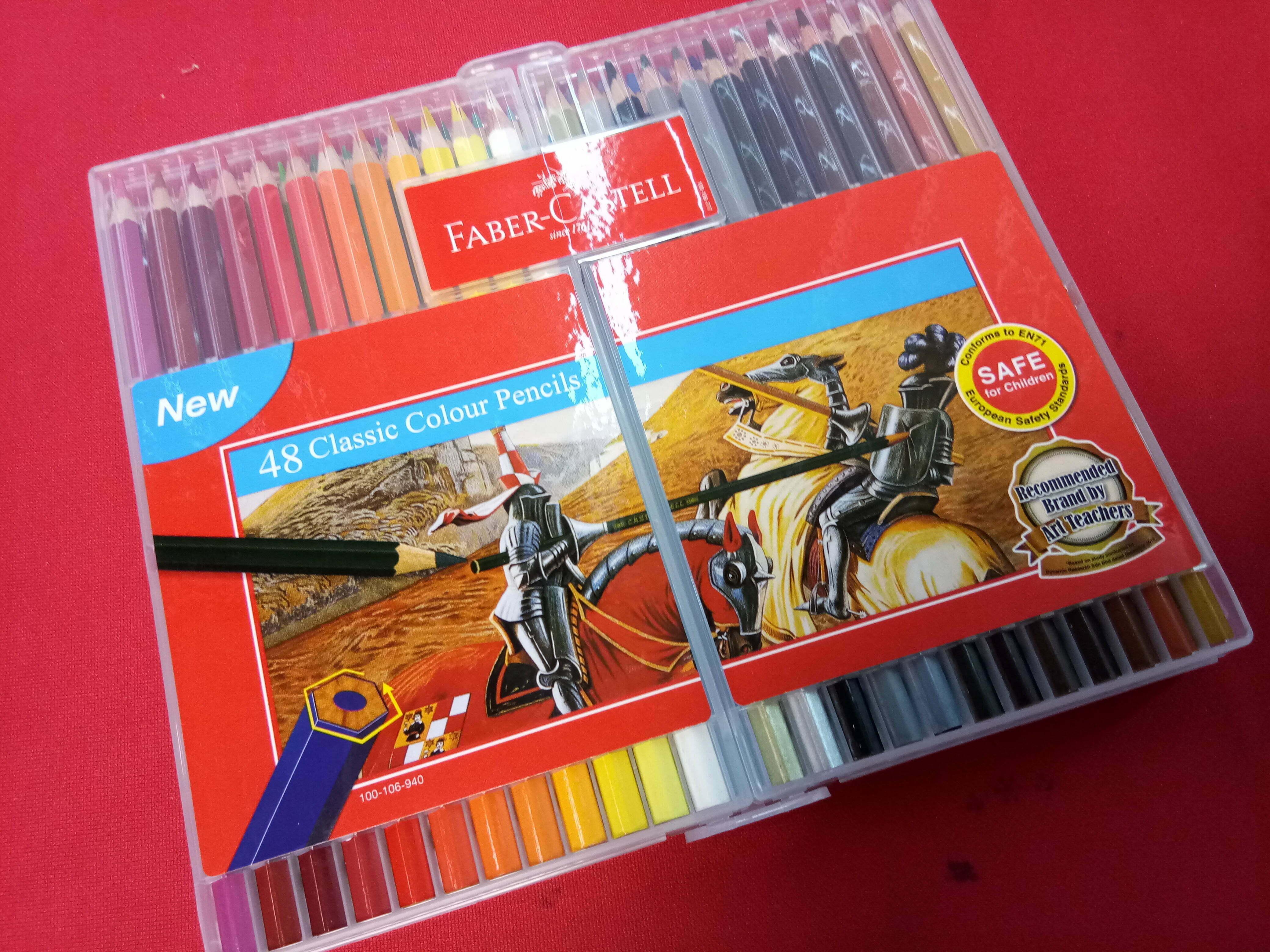 Slim-Flexi Case Pensel Warna Klasik 36 & 48 Dari Faber-Castell Malaysia
