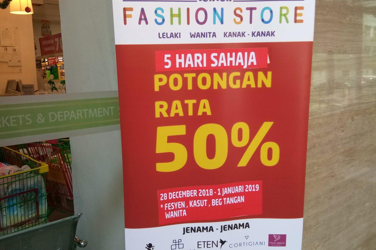 LuLu Hypermarket Jumbo Sale Lebih 50% Diskaun Untuk 5 Hari Sahaja