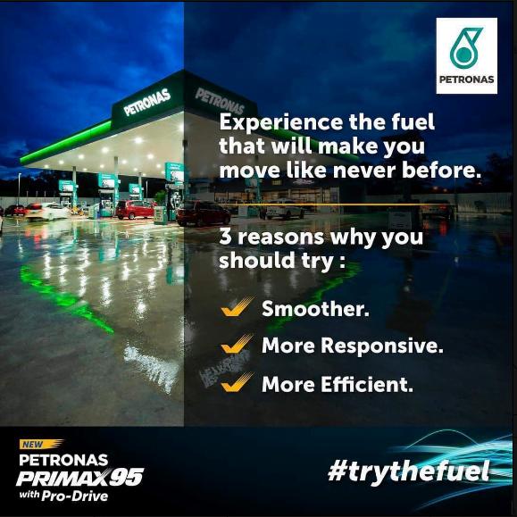 Petronas Primax 95
