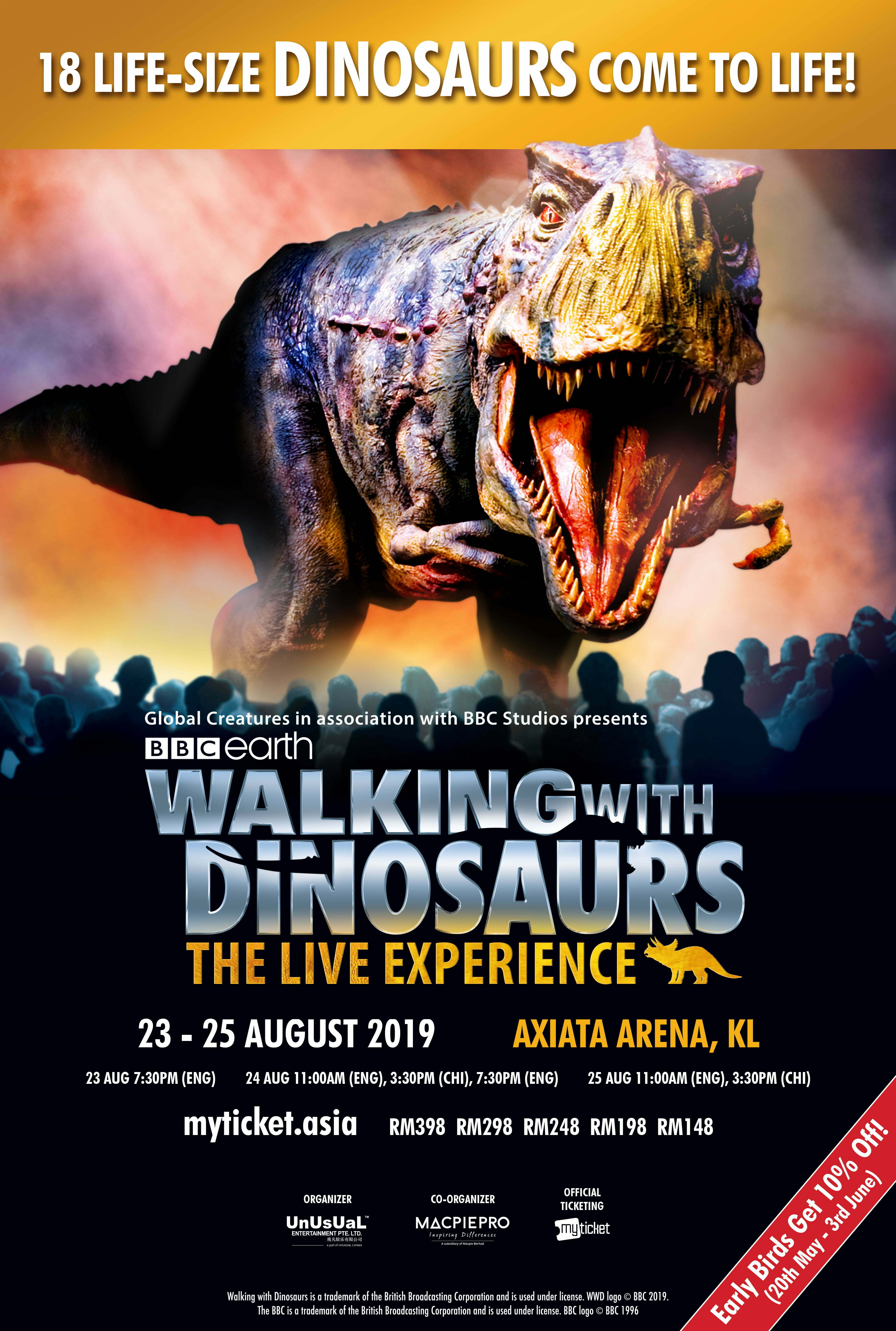 Walking With Dinosaurs – The Live Experience
