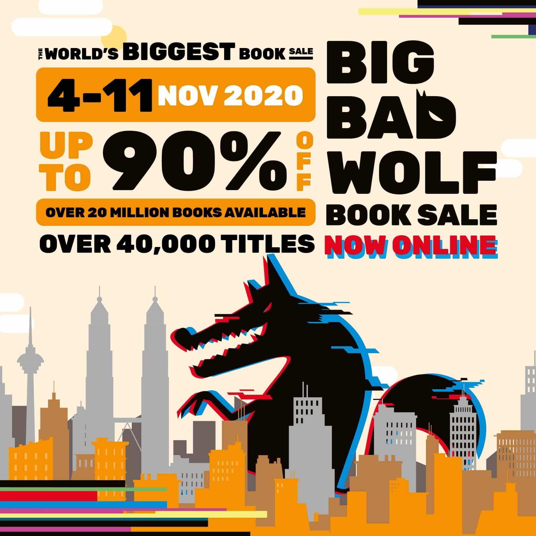 Jualan Buku Big Bad Wolf