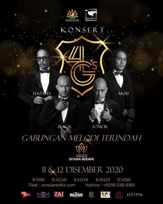 Konsert 4G's